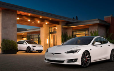 Take a Tesla taxi in Kelowna