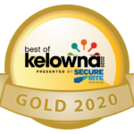 Best of Kelowna 2020 Gold Winner Badge